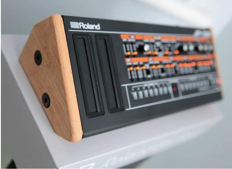 roland jx03 jp08 ju06 boutique synths wood reverb. Black Bedroom Furniture Sets. Home Design Ideas