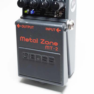Boss MT-2 Metal Zone Pedal Pimp Metal God Mod (EXCLUSIVE)