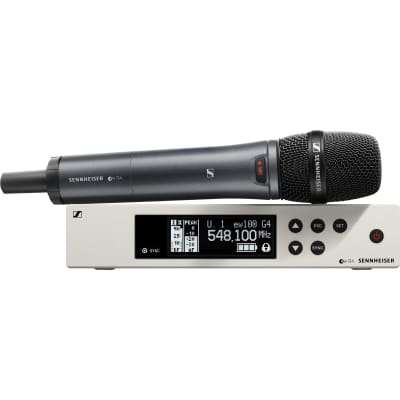 New Sennheiser EW 100 G4-845-S-A Wireless Vocal Mic System with e845 Capsule