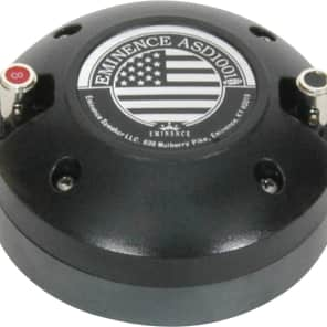 Eminence ASD1001S High-Frequency Driver - 8 Ohm