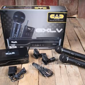 CAD GXLVHH-J Dual Handheld Mic Wireless System - Band J
