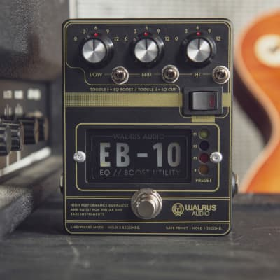 Walrus Audio EB-10 Preamp/EQ/Boost, Black for sale