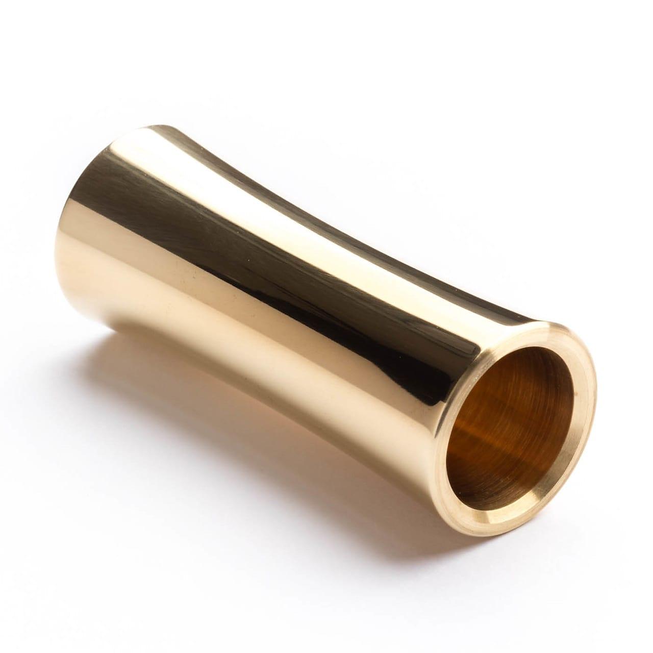 Dunlop 227 Medium Concave Brass Slide Heavy Wall