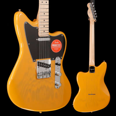Squier Paranormal Offset Telecaster, Maple Fb, Butterscotch Blonde 507 7lbs 9.6oz