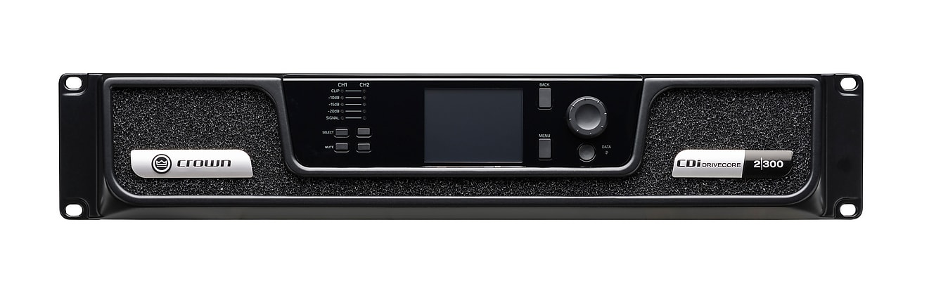 Crown DriveCore Series CDi 2|300 Analog Amp, Two 300W Channels | Overnight  Ship | Authorized Dealer