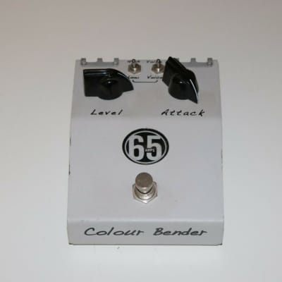 65 Amps Colour Bender Fuzz Bender Guitar FX Effects Pedal for sale