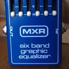 Vintage MXR Six Band Graphic Equalizer FX Pedal w/ Box MXR EQ Dimebag Darrell/Pantera, Van Halen