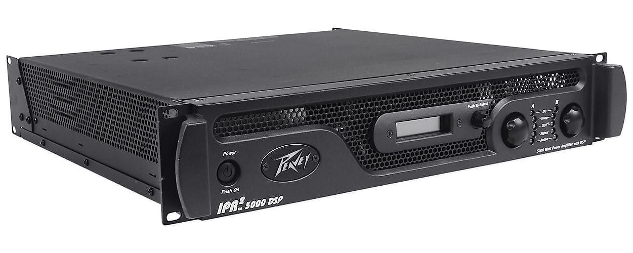 peavey ipr2 5000 dsp 2 channel 5000 watt power amp with reverb. Black Bedroom Furniture Sets. Home Design Ideas