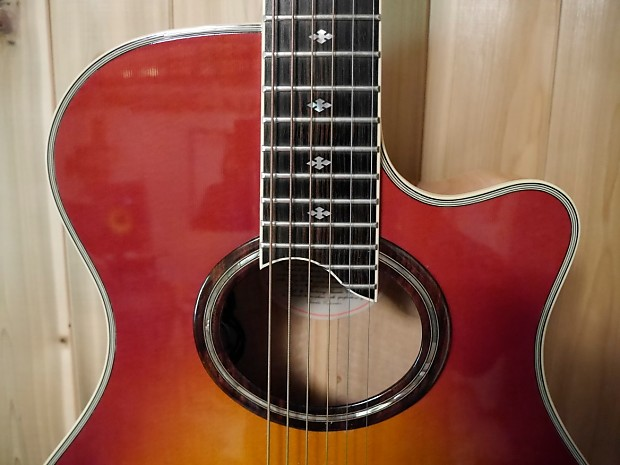 1988 Yamaha APX-10 Stereo Electric/Acoustic Guitar/Taylor/Martin on