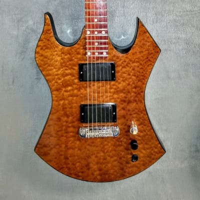 Occhineri Custom Guitar  Waterfall Sapele for sale