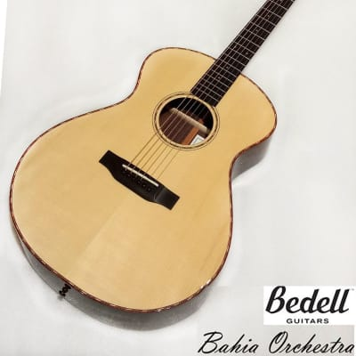 Bedell Bahia Orchestra Adirondack spruce & Brazilian rosewood full solid Guitar for sale