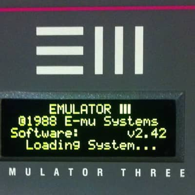 E-mu Systems Eiii  / EiiiXP / XS OLED Display Upgrade Kit by Bassmobile