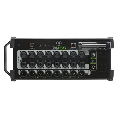Mackie DL16S 16-Channel Rackmount Digital Mixer / Stagebox with WiFi and USB Interface