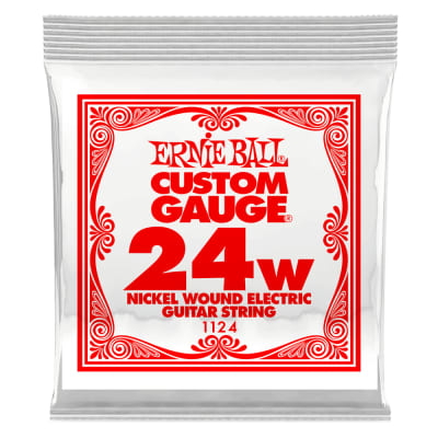 Ernie Ball .024 Nickel Wound Electric String