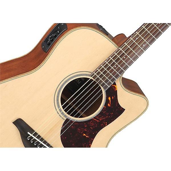 yamaha a1m folk dreadnought cutaway acoustic electric guitar reverb. Black Bedroom Furniture Sets. Home Design Ideas