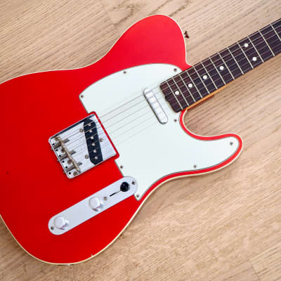 2000 Fender American Vintage '62 Telecaster Custom Candy Apple Red w/ Case, Hangtags for sale