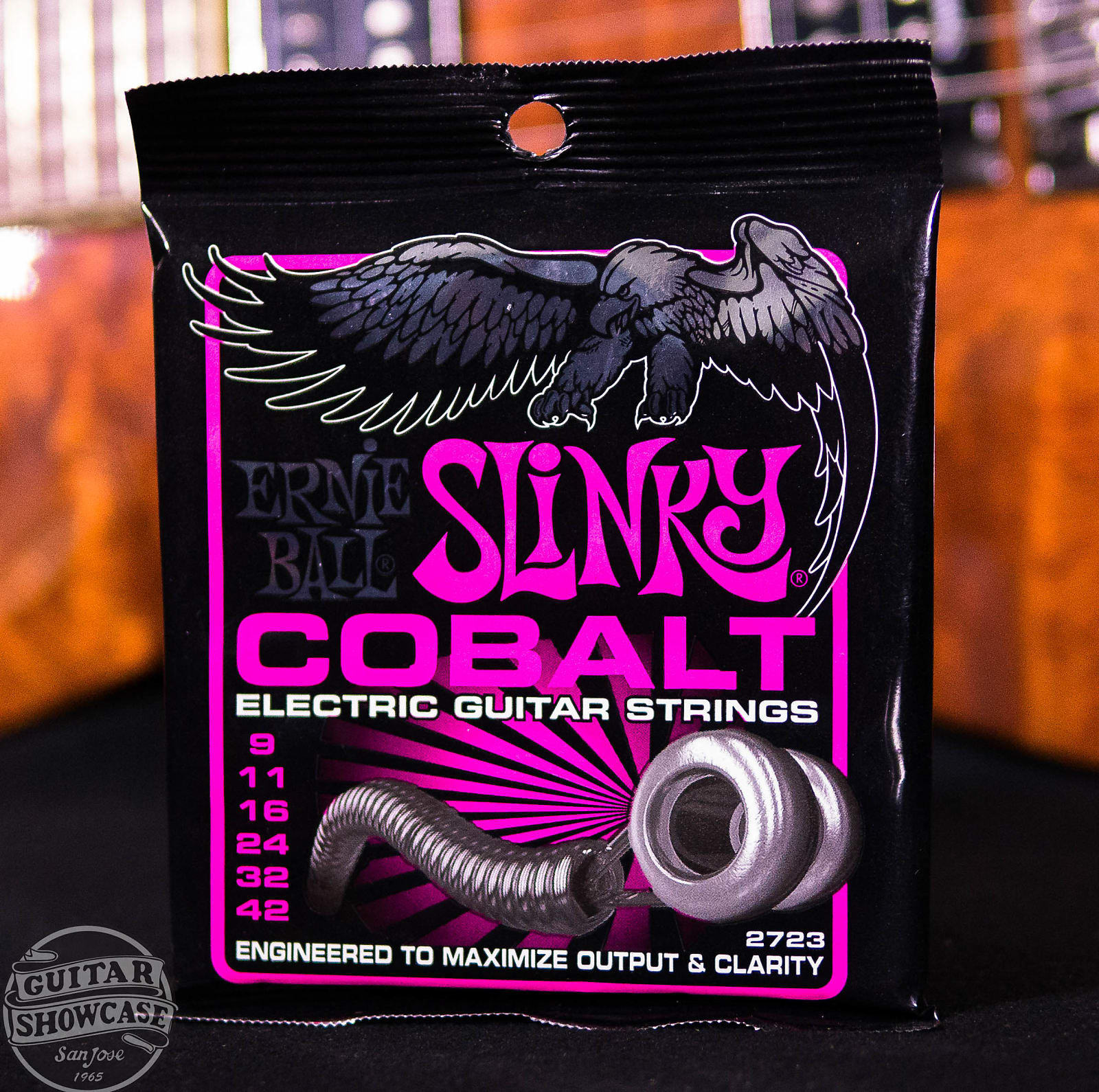 Ernie Ball 2723 Cobalt Super Slinky 009-042