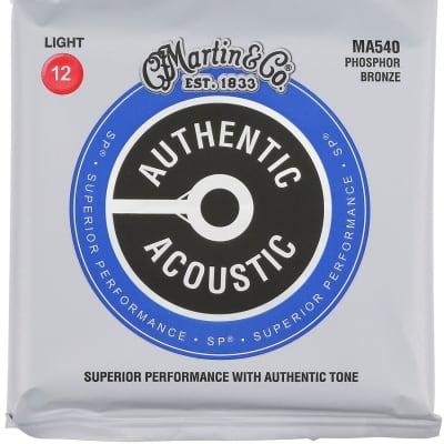 Martin Authentic Acoustic SP Phosphor Bronze Light Strings 12-54