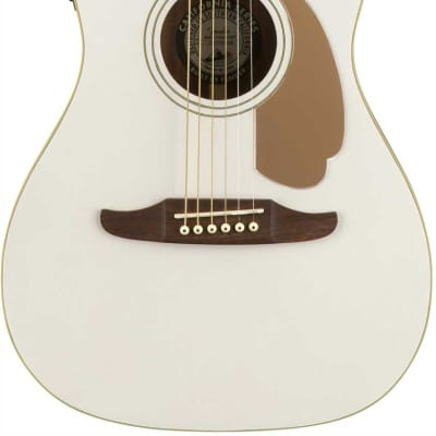 Fender Malibu Player Acoustic Electric Guitar - Arctic Gold for sale