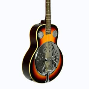 De Rosa DBI-8-VSB-TS Laminated Spruce Top Maple Neck 6-String Resonator Acoustic Guitar-T. Sunburst for sale