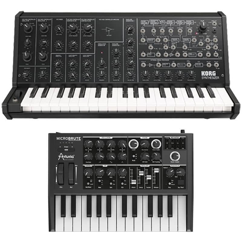 korg ms 20 mini analog synth keyboard arturia microbrute reverb. Black Bedroom Furniture Sets. Home Design Ideas