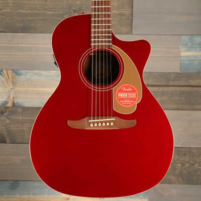 Fender Newporter Player, Walnut Fingerboard, Candy Apple Red for sale