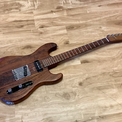 Zolla Custom Hot Rod Strat, in KOA with awesome configuration! 1980's Natural for sale