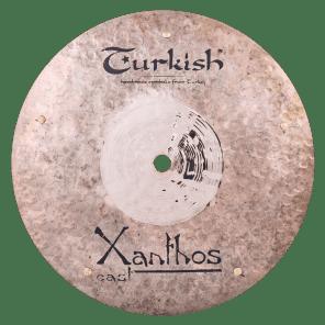 "Turkish Cymbals 10"" Rock Series Xanthos Cast Flat Bell Sizzle XC-FBLSZ10"