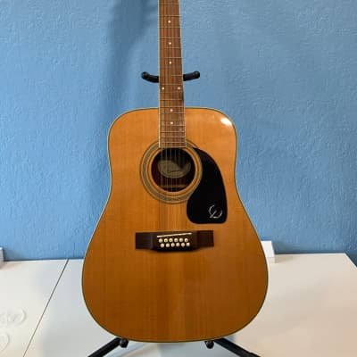 Epiphone DR-212 12-String Acoustic Guitar Natural