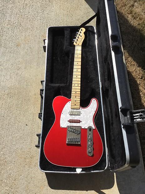 Fender American Deluxe Telecaster Tele Brent Mason Mod