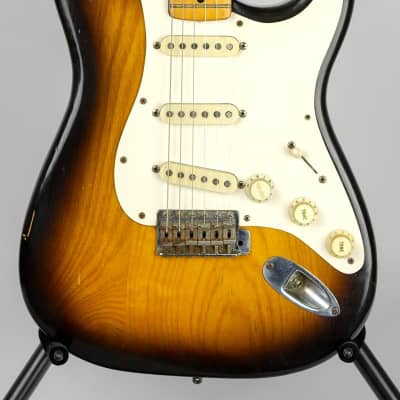 1954 Fender Stratocaster Electric Guitar w/Case (Pre-Owned) (Glen Quan Private Collection) for sale