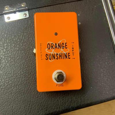 Vintage technology Orange Sunshine  Fuzz