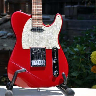 Sadowsky NYC Vintage T Style 1993 Candy Apple Red Electric Guitar + OHSC = No CITES Permit Needed for sale