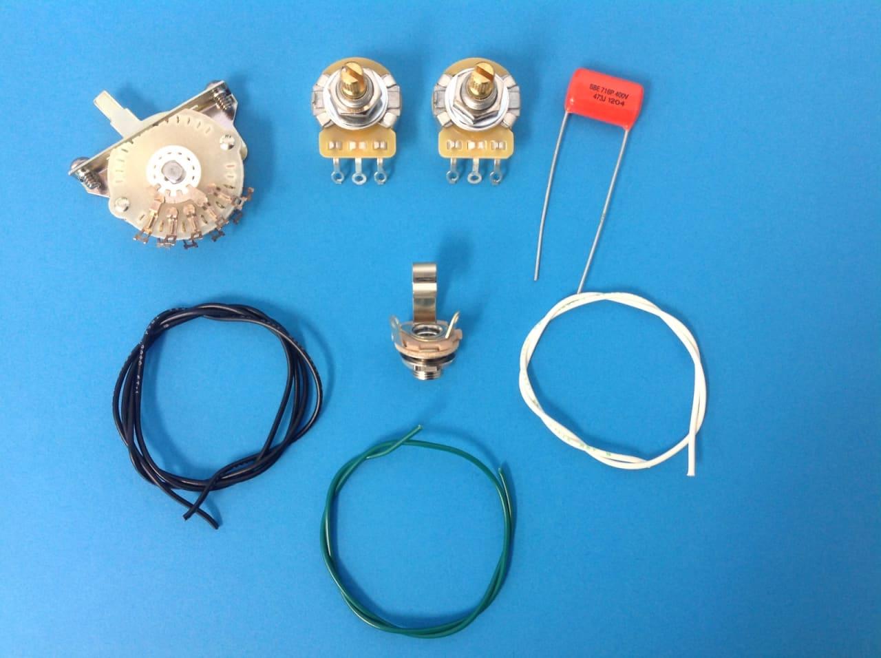 am guitar works telecaster tele 4 way switch wiring kit