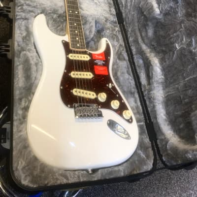 Fender Limited Edition American Professional Series Channel Binding Translucent White for sale