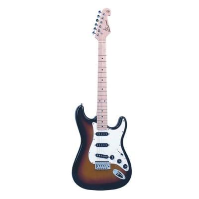 SX electric guitar SC style, sunburst alder for sale