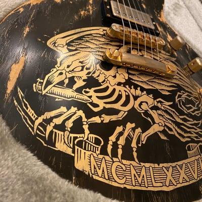 ESP Custom Will Adler Warbird Distressed for sale