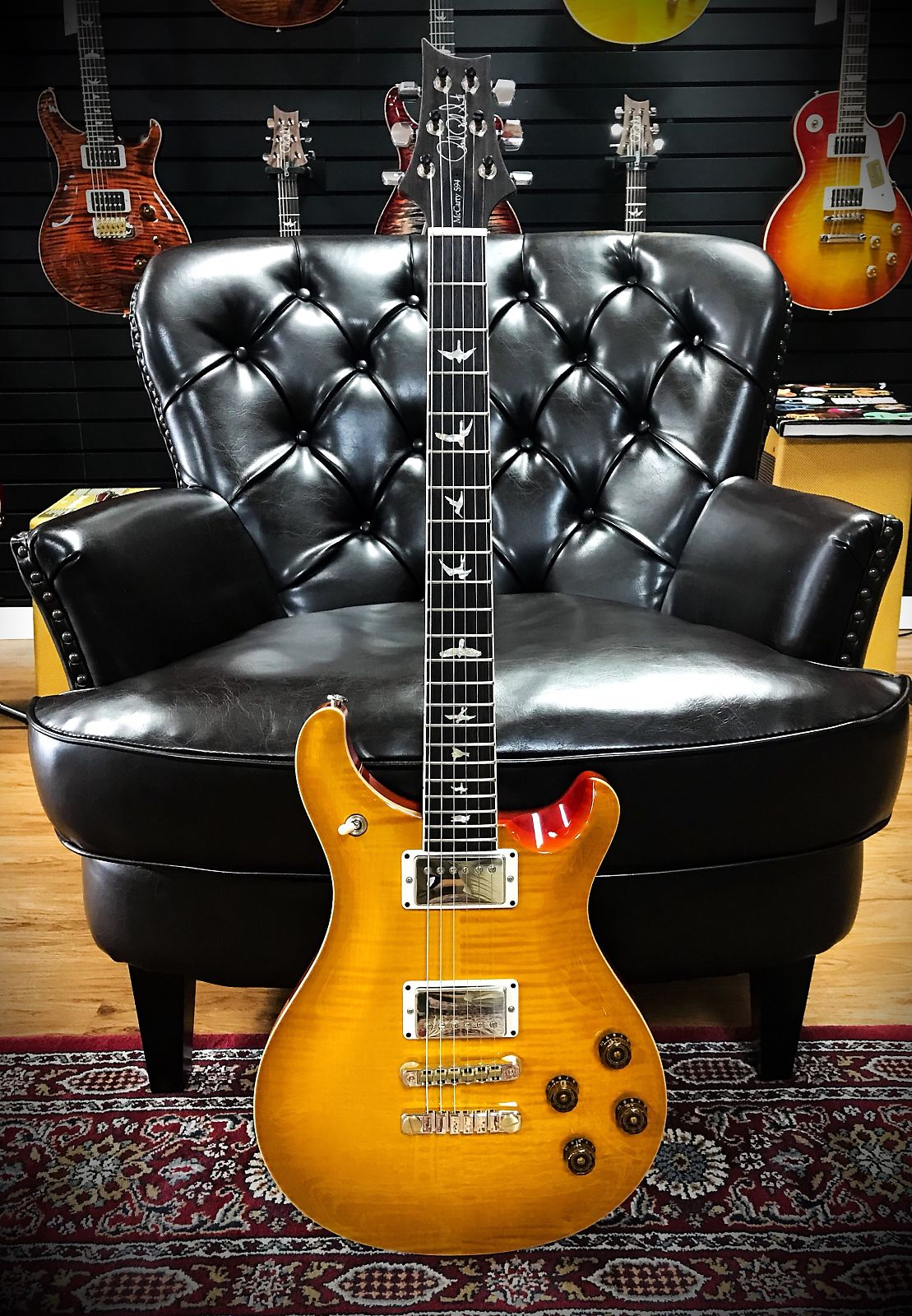 Paul Reed Smith McCarty 594 2018 Figured Top Pattern Neck McCarty sunburst