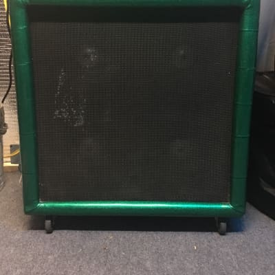 Plush P1000S Head and 412 Cabinet 60's/70's Green Sparkle for sale