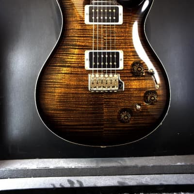 Paul Reed Smith Custom 22 Piezo  -  Black Gold Smokewrap Burst 10 Top - CUSTOM COLOR!