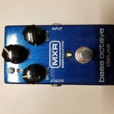 MXR  Bass Octave Deluxe Recent Blue