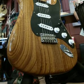 Fender Fender Ltd. Edition FSR '56 Stratocaster Roasted Ash  2017 Natural Roasted Ash for sale