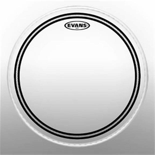 evans ec2 clear 13 drum head damm music reverb. Black Bedroom Furniture Sets. Home Design Ideas
