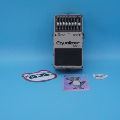 Boss GE-7 Graphic EQ | Rare (Black Label) 1982 Made In Japan | Fast Shipping!