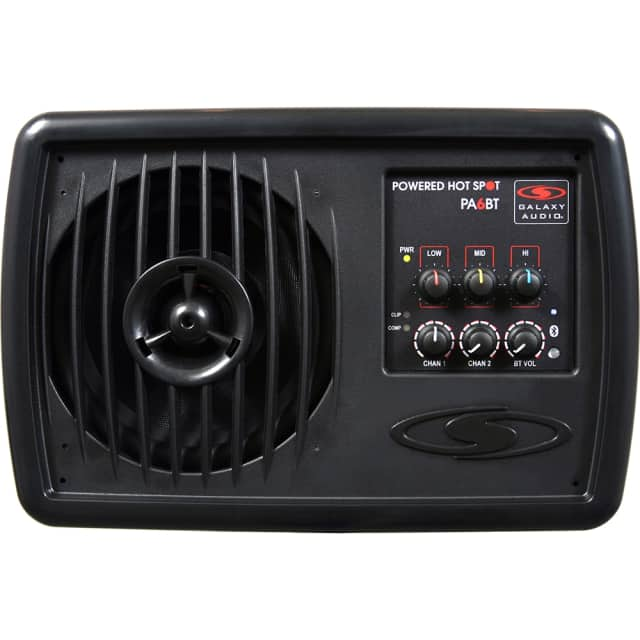 Galaxy Audio PA6BT Powered Hot Spot Personal PA Performance Monitor w/ Bluetooth image