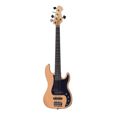 Artist VHYB5 Vintage Hybrid V 5 String P-J Style Bass Guitar for sale