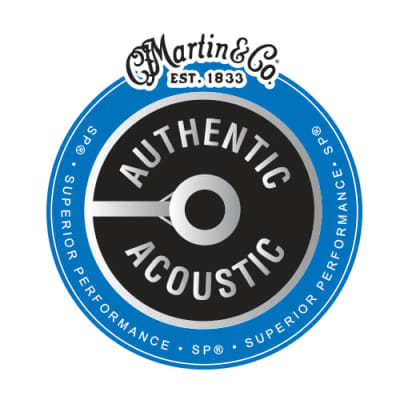 Martin MA540 Authentic 92/80 Phosphor Bronze Acoustic Light Set, 12-54