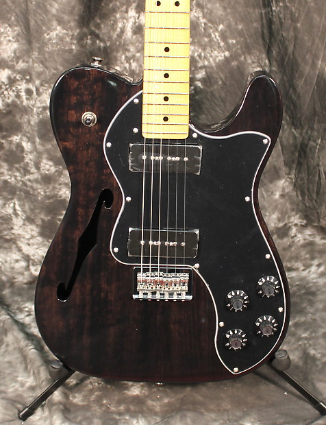 fender modern player telecaster thinline deluxe electric reverb. Black Bedroom Furniture Sets. Home Design Ideas
