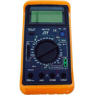Rolls MU118 Digital Multimeter with Frequency Measurement and Temperature  Sensor
