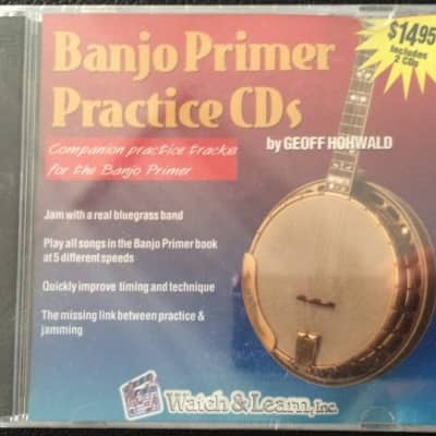 Watch & Learn Banjo Primer Practice CDs